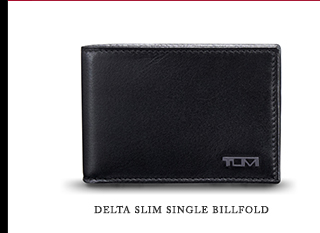 Delta Slim Single Billfold - Shop Now