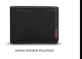 Alpha Double Billfold - Shop Now