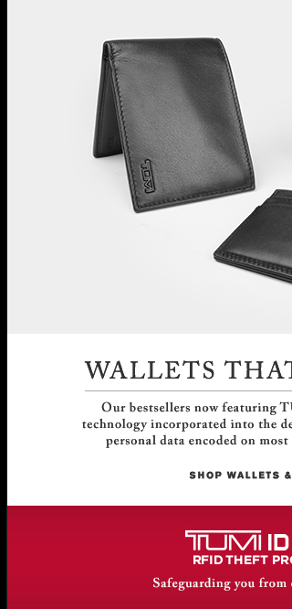 Wallets That Fit the Bill - Shop Wallets and Accessories