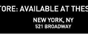 NEW YORK, NY | 521 BROADWAY