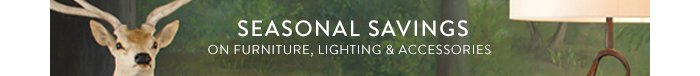 Seasonal savings on furniture' lighting & accessories