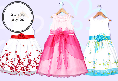 Fresh for Spring: Girls Dresses