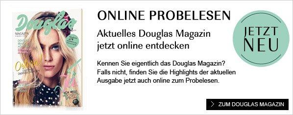 Douglas Magazin Probelesen