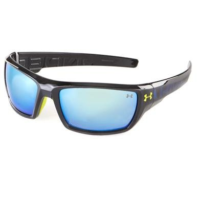 Under Armour® Blue Mirror Assert Sunglasses