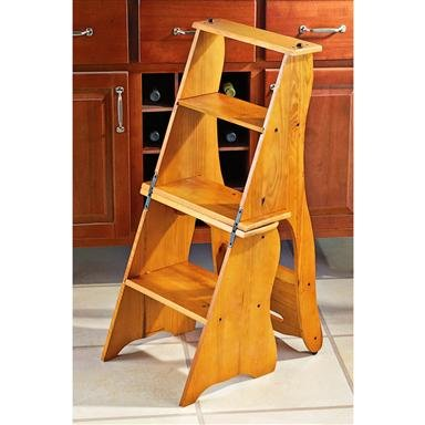 Wooden Chair Stepstool