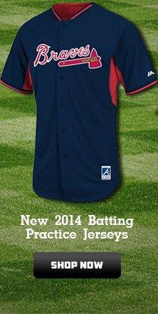 New 2014 Batting Practice Jerseys