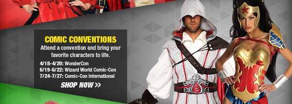 Shop Comic Conventions