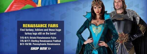 Shop Renaissance Fairs