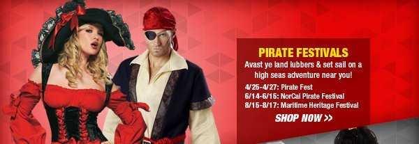 Shop Pirate Festivals