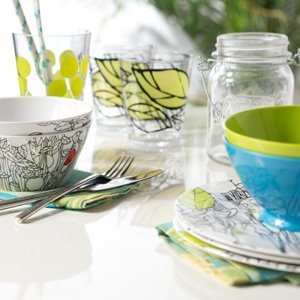 Melamine Dish Sets & More for Outdoor Dining