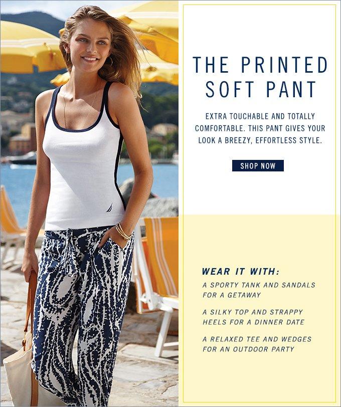 Shop Printed Soft Pant
