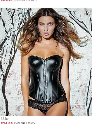 Mika corset and panty