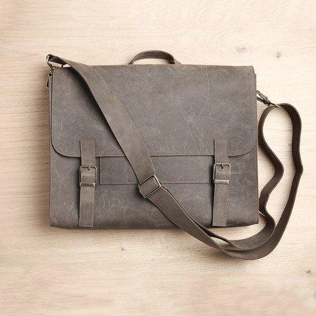 Satchel Bag // Grey