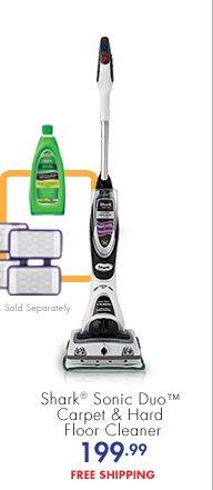 Shark® Sonic Duo™ Carpet & Hard Floor Cleaner 199.99 FREE SHIPPING