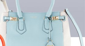Carlyle N/S Color Blocked Tote