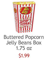 Buttered Popcorn Jelly Beans Box
