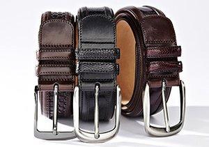 $29 & Up: Belts