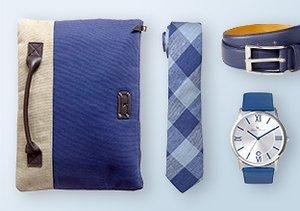 Shop by Color: Blue Accessories