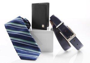 Dress to Impress: Ties, Belts & More
