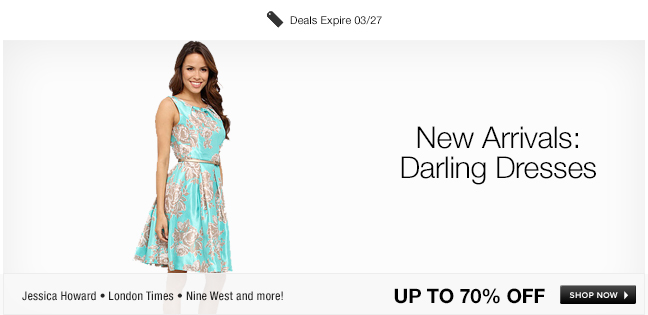 New Arrivals: Darling Dresses