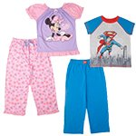 Licensed Character 2-Piece Pajama Sets
