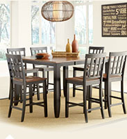 Somerset 7-Piece Counter Height-Dining Set