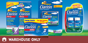 Claritin 10 mg. Tablets, RediTabs or Children's Grape Syrup or Chewables