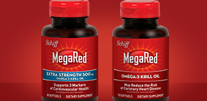 Schiff MegaRed or Extra Strength Omega-3 Krill Oil