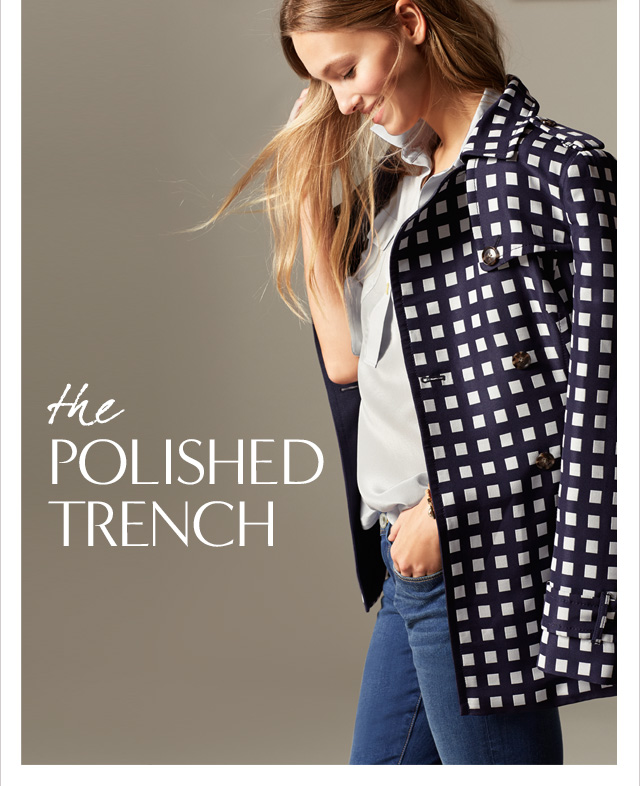 the POLISHED TRENCH