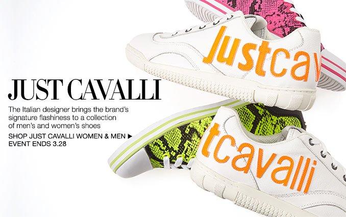 Shop Just Cavalli - Men and Ladies