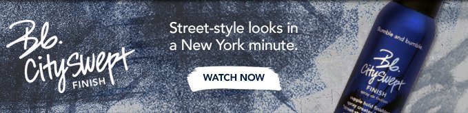 Bb.Cityswept Finish Street–style looks in a New York minute.
