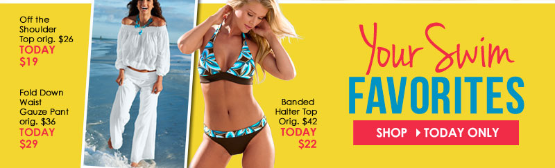 Are you BEACH-READY? Shop Your Swim Favorites ON SALE!