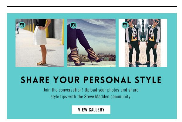 Share your Personal Style