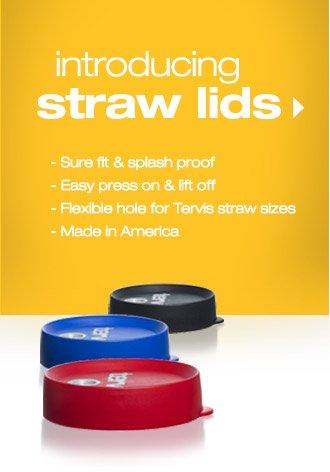 NEW Straw Lids