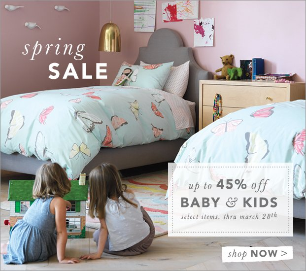 A Sale Their Size - Up to 45% Off Baby & Kids