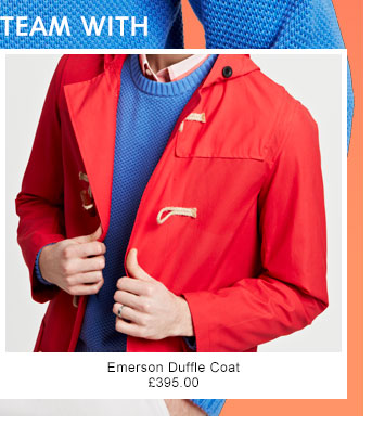 TEAM WITH - Emerson Duffle Coat