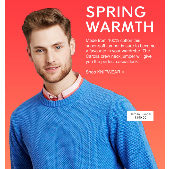 SPRING WARMTH - Shop KNITWEAR >