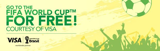 GO TO THE FIFA WORLD CUP FOR FREE!