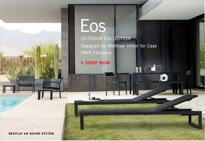 Eos OUTDOOR COLLECTION Designed by Matthew Hilton for Case DWR Exclusive SHOP NOW