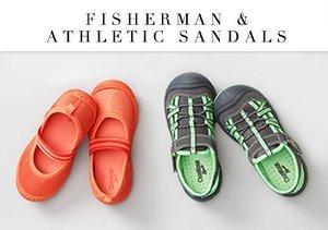 Fisherman & Athletic Sandals