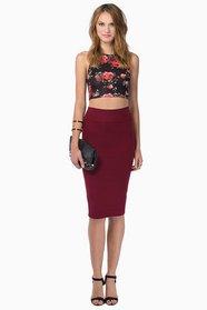 So Slim Skirt $19
