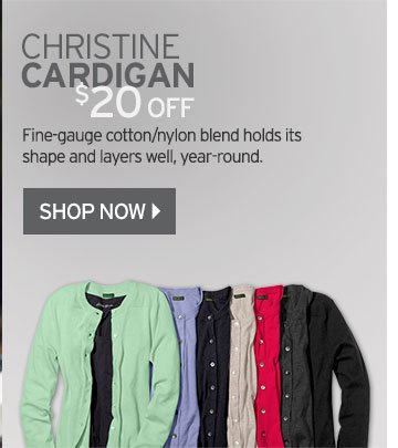 Christine Cardigan Sweater $20 OFF