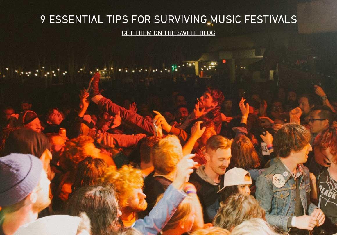 Music Festival Survival Tips