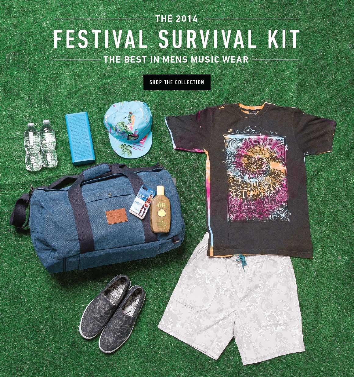 Shop the 2014 Festival Survival Kit