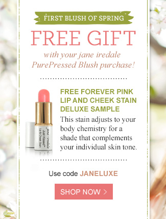 Free gift with PurePressed Blush purchase - Shop Now!