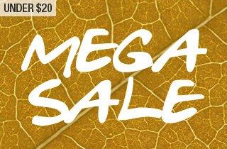 Under $20 Mega Sale