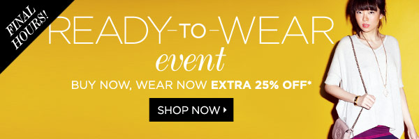 Sportswear Extra 25% Off*