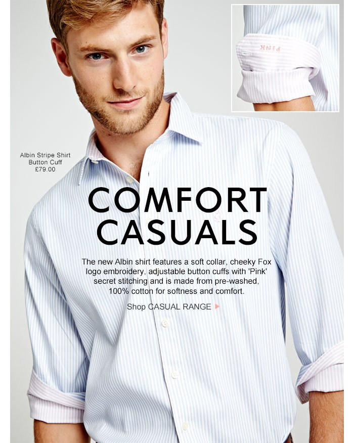 COMFORT CASUALS - Shop CASUAL RANGE >