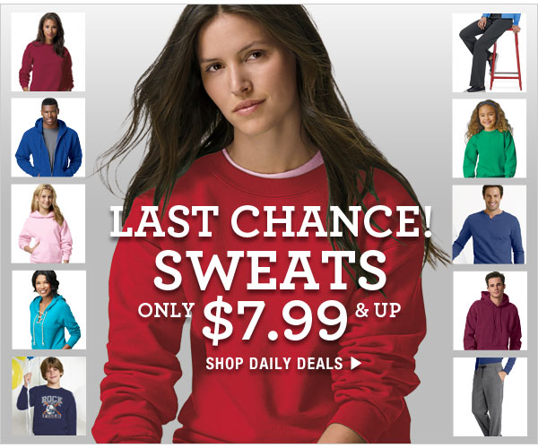 Last Chance Daily Deals: $7.99 & up
