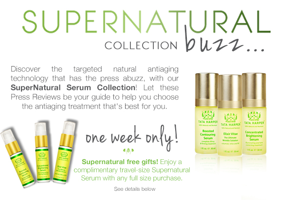 Try a travel-size SuperNatural Serum!